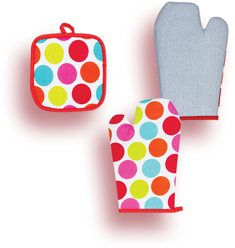 Oven Glove and Holder
